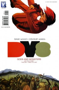 Dv8: Gods and Monsters #1 - Cover