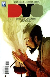Dv8: Gods and Monsters #3 - Cover