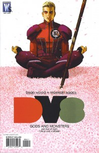 Dv8: Gods and Monsters #4 – Cover