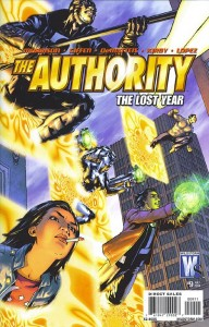 The Authority: The Lost Year #9 - Cover
