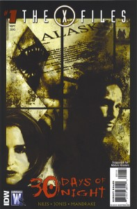 X Files / 30 Days of Night #1 - Cover