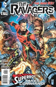Ravagers #6 cover